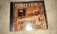 DISTURBED cd single ANOTHER WAY TO DIE free us shipping