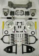 1949-1954 Chevy Mustang II Manual Front End Suspension Kit Stock Height SLOTTED