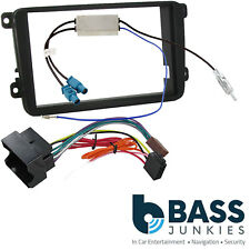 Skoda Fabia MK2 5J 07-14 SWING Car Stereo Double Din Fascia Panel & Fitting Kit