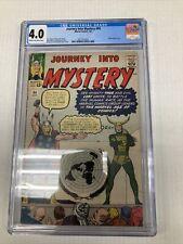 Marvel Comics Journey Into Mystery 94 CGC Graded 4