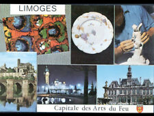 LIMOGES (87) EMAILLERIE / ARTISAN travaillant BISCUIT PORCELAINE