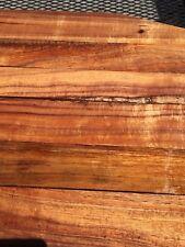 "Ultra Premium Curly Koa Wood Reclaimed 6@16-24""x2-4""x1"" For Fine Woodworking"