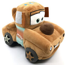 Disney Pixar Tow Mater Plush Gund Towtruck Character Cars Movie 11in Seam Tags
