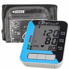 Care Touch Fully Automatic Upper Arm Blood Pressure Monitor Classic Edition Arm