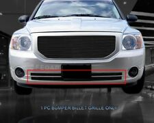Black Billet Grille Front Grill Bumper Insert For 2006-2012 Dodge Caliber