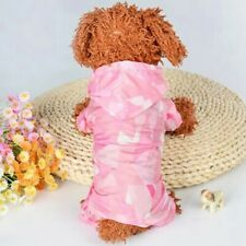 DOG COAT onsie CHIHUAHUA YORKIE PUPPY TOY 23CM TEACUP TINY XS raincoat pink