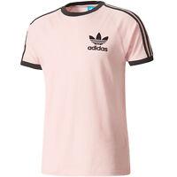 adidas Originals California Linear 3 Stripes Tee Herren-T-Shirt Sportshirt NEU