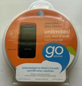 AT&T GO PHONE SAMSUNG a157 Flip Cell Phone New Factory Sealed