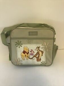 NEW Disney Baby Winnie the Pooh Tigger Piglet Mini Diaper Bottle Bag w/Strap
