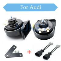12V 110-125db 410/510Hz Waterproof High Low Pitch Loud Car Snail Horn For Audi