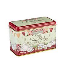 English Tea Party Breakfast Tea Tin - 40 INTERCALAIRES