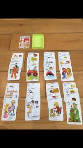 Vintage Happy Families Card Game From Piatnik - Complete Set