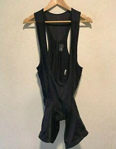 Gore Bike Wear Padded Cycling Bib Shorts Size 2XL WOMEN'S Black Great Condition
