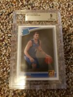 2018 Panini Donruss Optic Luka Doncic Rated Rookie PSA 9 Dallas Mavericks