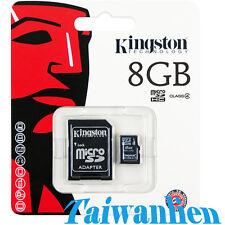Kingston 8GB 8G Class 4 Micro SD Micro SDHC TF Flash Memory Card