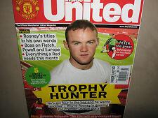 NEW! INSIDE Manchester UNITED Official Magazine November 2012 Wayne Rooney