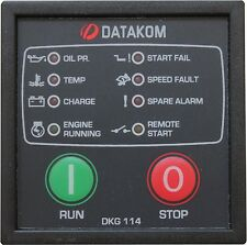 DATAKOM DKG-114 Manual do gerador e painel de controle do começo remoto