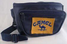 CAMEL cigarette fanny pack bumbag blu marsupio '90 mint