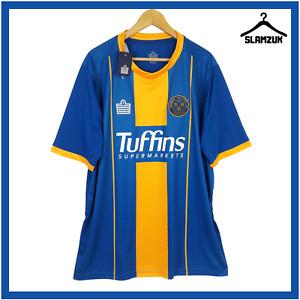 Shrewsbury Town Football Shirt Admiral XXXL 3XL Home Soccer Jersey 2019 2020 A48