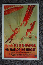 The Galloping Ghost Lobby Card Movie Poster Red Grange