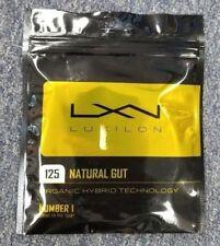 Luxilon Natural Gut 17 Gauge 1.25mm Tennis String