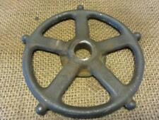 Vintage Iron Wheel Rare Design Garden Decor > Antique Farm Old Steampunk 9974