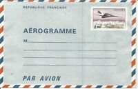 French Airmail Cover with Concorde Stamp France Z6981