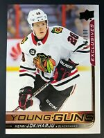 2018-19 Henri Jokiharju Young Guns Exclusives Rookie /100