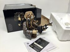 Star Wars Gentle Giant Mini Bust - Zuckuss - Esb Mint Rare #4474 Of 5000