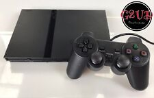 sony playstation 2 PS2 slimline games console - complete setup - FREE P&P
