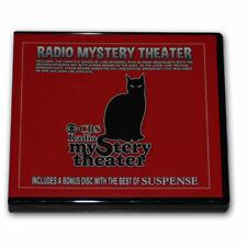 CBS RADIO MYSTERY THEATER OTR-5 DVD w 1399 mp3 episodes + BEST OF SUSPENSE