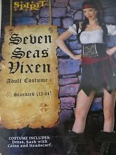 Seven Seas Vixen Pirate Women's Sz 12-14 Costume