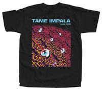 Tame Impala V4 Psycho Vintage Reprint Cotton Small Large Men White Shirt E337