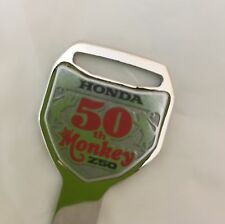Honda Genuine Monkey Z50 50th Anniversary Blank Key 35121-GFL-YD1 Japan - NEW
