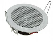 Einbau-Lautsprecher Decken+Wände Hohlraummontage, weiß, Ø106mm, 45 Watt, 8 Ohm