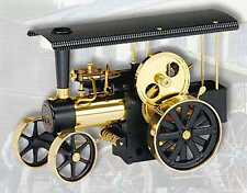AU Special Wilesco D406 Black Brass Traction Engine - Made in Germany