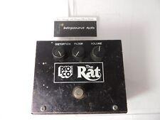 Vintage 1983 ProCo Rat Distortion Effects Pedal Big Box Original LM308 IC Rare