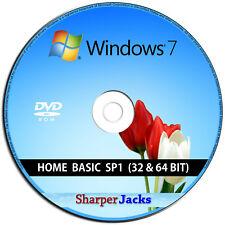 Windows 7 Heim Basic 32/64-Bit Installieren/Reinstall /Pflege/Rettung/Repair