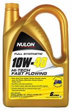 Nulon Full Synthetic Hi-Tech Engine Oil 10W40 6L SYN10W40-SIX fits Peugeot 30...