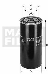 OIL FILTER MANN-FILTER WD 962/14