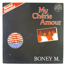 """12"""" Maxi - Boney M. - My Chérie Amour / Sample City - C1555 - washed & cleaned"""