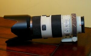 Sony 70-200mm F2.8 G SSM Lens. Sony A Mount. with LensCoat, Case, Box & Filter