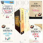Jojo Moyes 4 Books Collection Set(After You,Me Before You)Gift Wrapped Slipcase