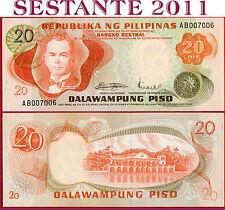 PHILIPPINES - FILIPPINE - 20  PISO 1970 Low number  - P 150  -   FDS / UNC