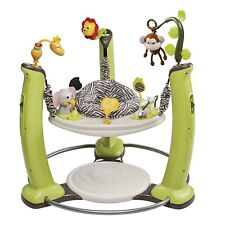 ExerSaucer Jump Learn Stationary Jumper Jungle Quest Play Center Activity New