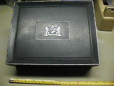 MAGNATES MARK IV  CIGAR   BOX    TOBACCO  BLACK  PLASTIC