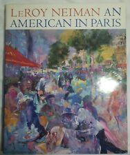 LeRoy Neiman An American In Paris Book