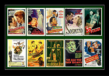 Alfred Hitchcock - Film Posters Postcard Set # 3