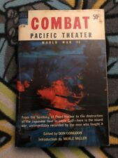 Combat Pacific Theater edited by Don Congdon paperback Book