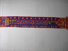 d8 sciarpa BARCELONA FC football club calcio scarf bufanda echarpe spagna spain